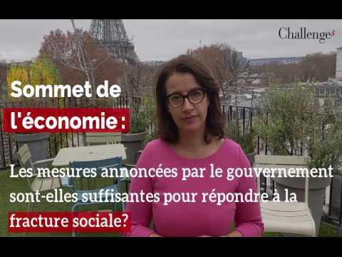 Les mesures annoncées par le gouvernement sont-elles suffisantes pour réduire la fracture sociale?