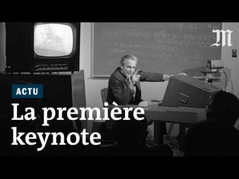Il y a 50 ans, la toute première « keynote »