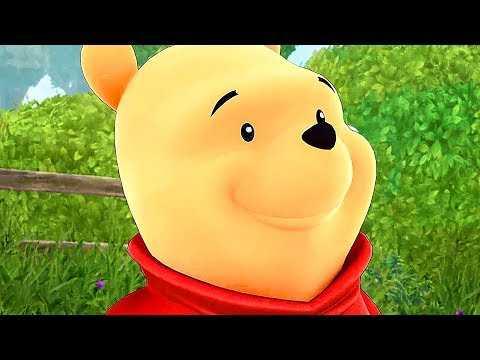 KINGDOM HEARTS 3: Winnie the Pooh Gameplay Trailer (2019)