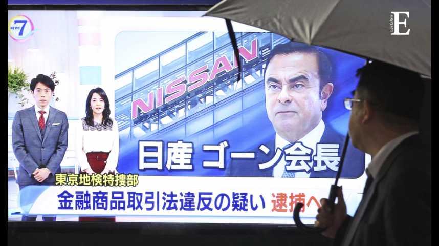 Illustration pour la vidéo Carlos Ghosn arrêté au Japon : un coup de tonnerre dans l'industrie automobile