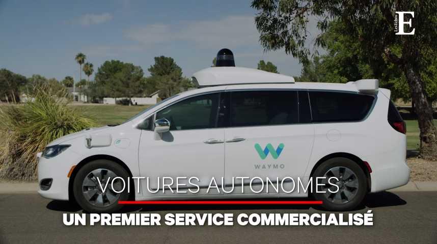 Illustration pour la vidéo Google lance l'ère des robots-taxis