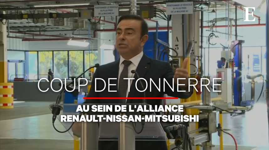 Illustration pour la vidéo Nissan va demander le départ de Carlos Ghosn de son conseil