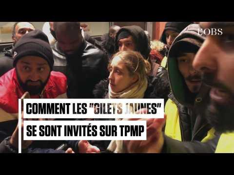 """Comment les """"gilets jaunes"""" se sont invités sur TPMP de Cyril Hanouna"""