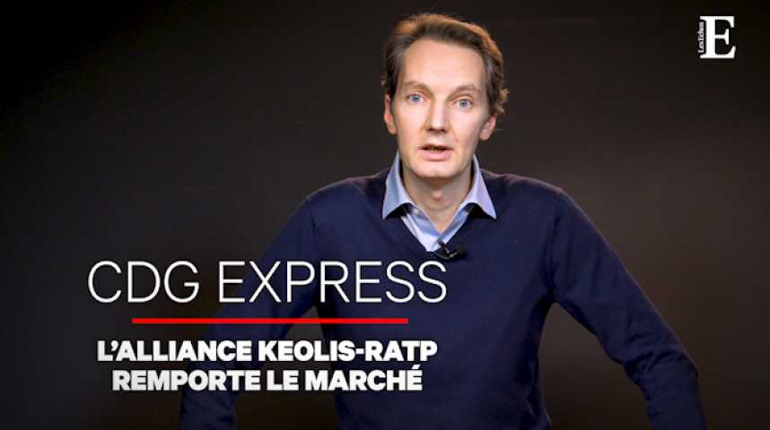 Illustration pour la vidéo Le CDG Express verra-t-il le jour pour les JO de 2024 ?