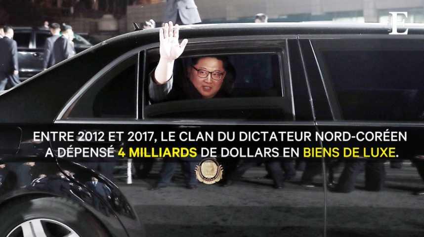 Illustration pour la vidéo Rolls-Royce, whisky, yachts... le fabuleux train de vie de Kim Jong-un