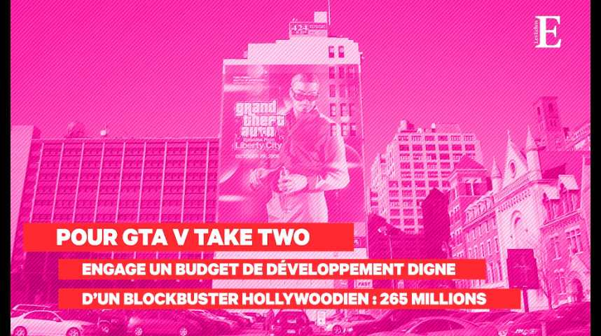 Illustration pour la vidéo Grand Theft Auto (GTA) : l'empire du jeu de Take Two