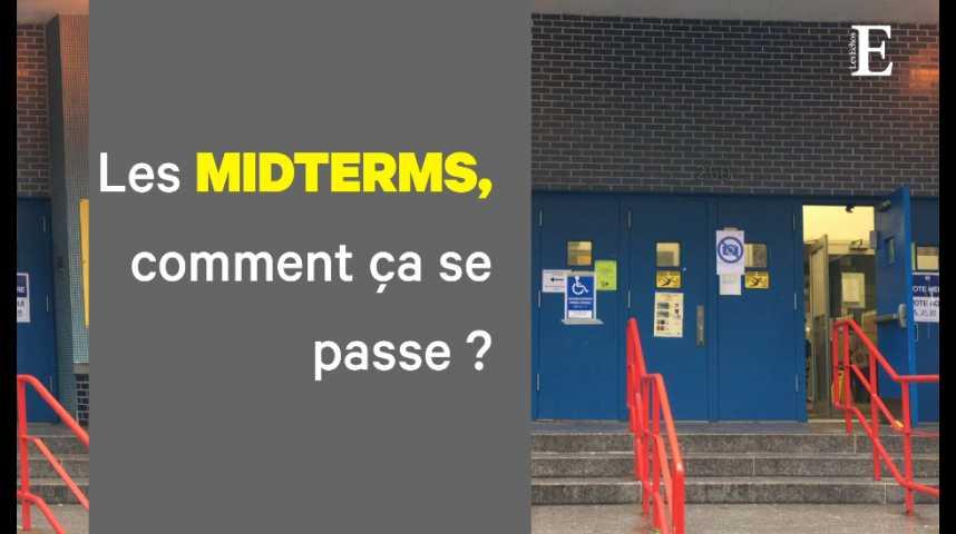 Illustration pour la vidéo Midterms : les Américains ont commencé à voter. Reportage à New-York