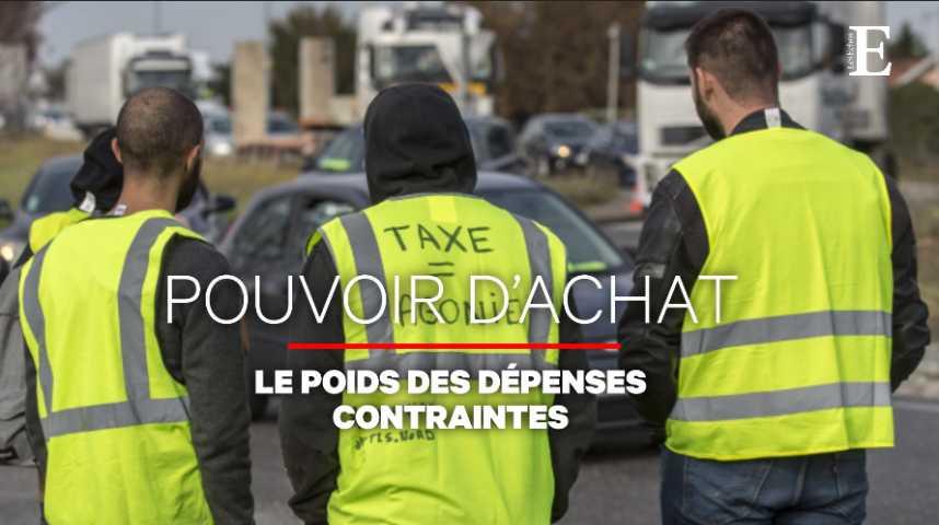 """Illustration pour la vidéo """"Gilets jaunes"""" : ces dépenses contraintes qui grèvent le budget des Français"""