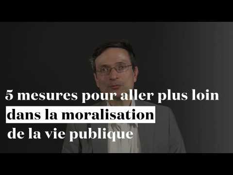 5 mesures pour aller plus loin dans la loi pour la moralisation de la vie publique par Eric Alt