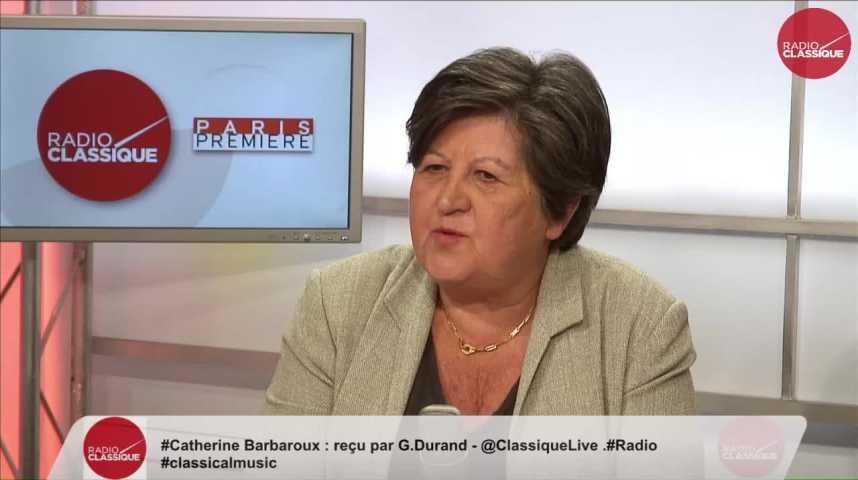 Illustration pour la vidéo « L'abstention est grave mais ne rend pas ces législatives illégitimes » Catherine Barbaroux (19/06/2017)