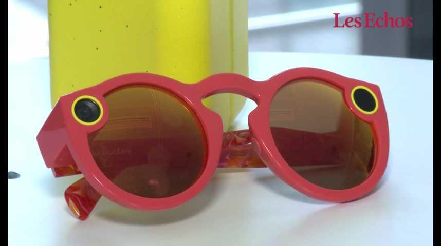 """Illustration pour la vidéo Dix jours avec les lunettes de soleil connectées de Snap, """"Spectacles"""""""