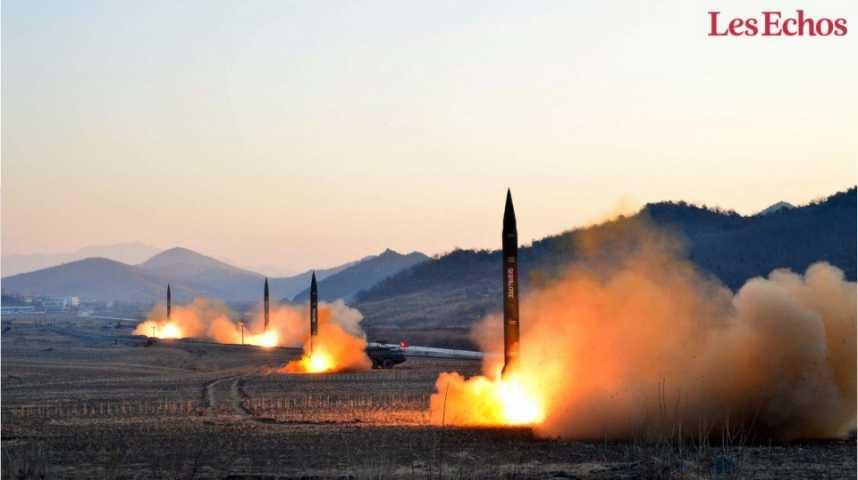 Illustration pour la vidéo Pyongyang teste un nouveau moteur pour son futur missile intercontinental