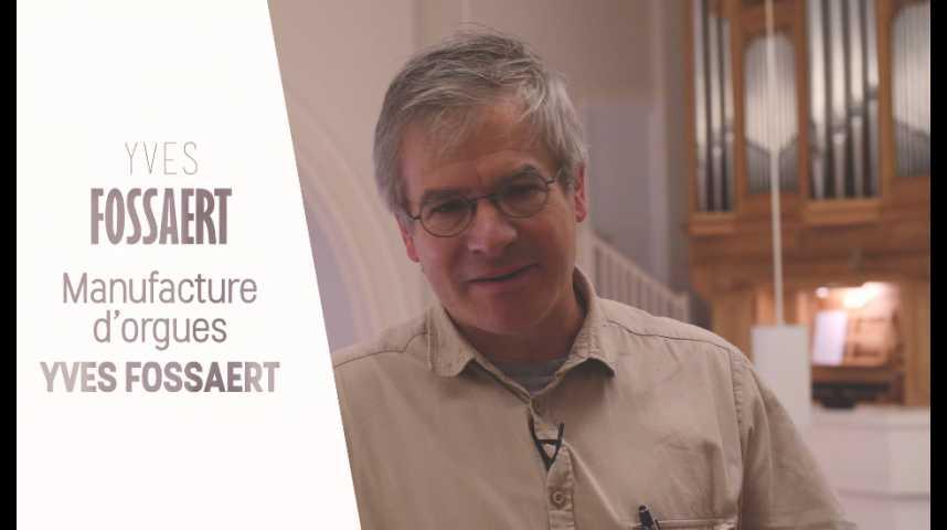 Illustration pour la vidéo  Yves Fossaert, maître artisan facteur d'orgues -  Prix du maître d'apprentissage 2017