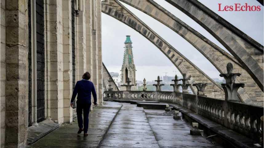 Illustration pour la vidéo Notre-Dame de Paris fait appel au mécénat