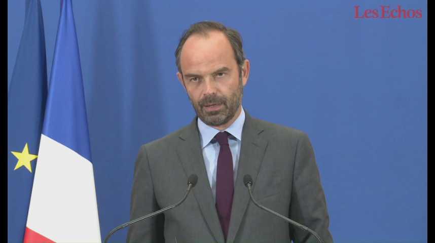 """Illustration pour la vidéo Edouard Philippe : """"Nous héritons d'un dérapage de 8 milliards d'euros : c'est inacceptable"""""""
