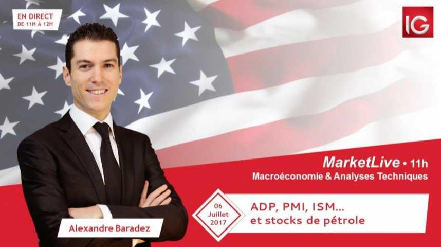 Illustration pour la vidéo #MarketLive 11h - Jeudi 6 juillet 2017