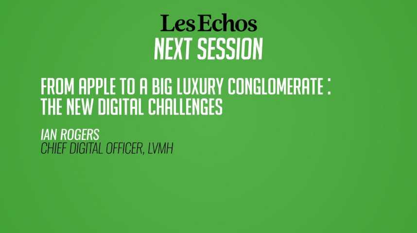Illustration pour la vidéo Ian Rogers : comment passe-t-on d'Apple à un grand groupe de luxe ?