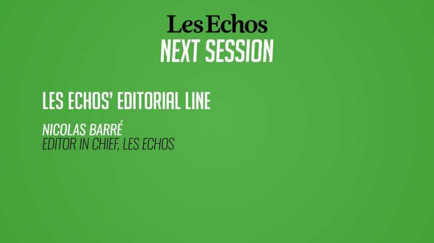Illustration pour la vidéo La ligne éditoriale des Echos