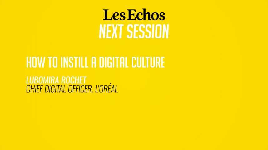 Illustration pour la vidéo Comment infuser la culture digitale ?