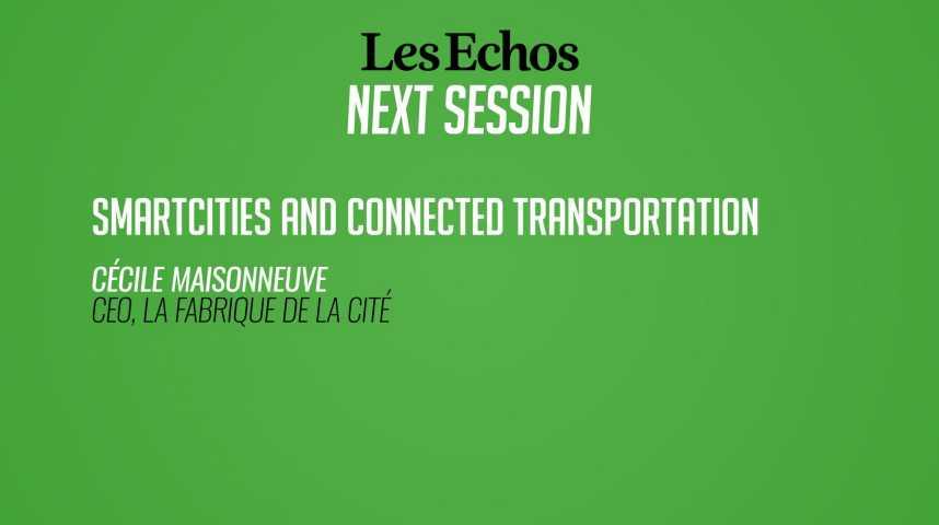 Illustration pour la vidéo Smartcities et transports connectés