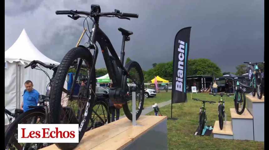Illustration pour la vidéo Le vélo électrique, nouveau moteur du marché du cycle