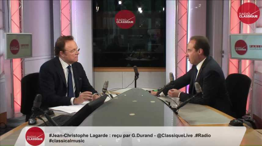 Illustration pour la vidéo « La présomption de culpabilité détruit la justice » Jean-Christophe Lagarde (28/06/2017)