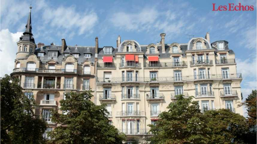 Illustration pour la vidéo Immobilier : Paris flambe, la France suit, plus calmement