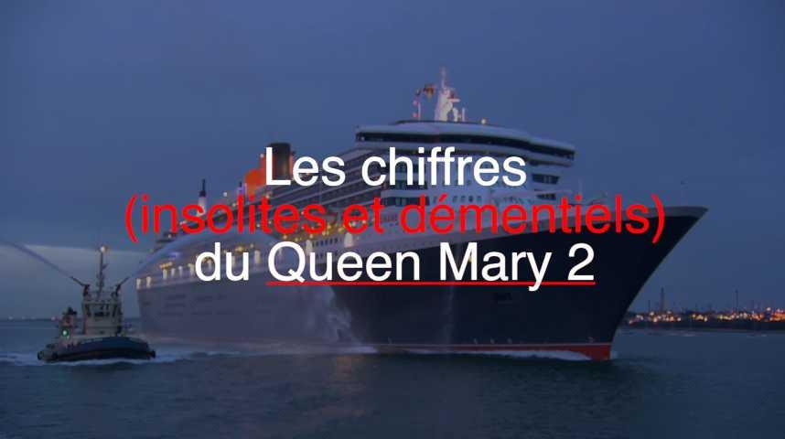 Illustration pour la vidéo Les chiffres (insolites et démentiels) du Queen Mary 2