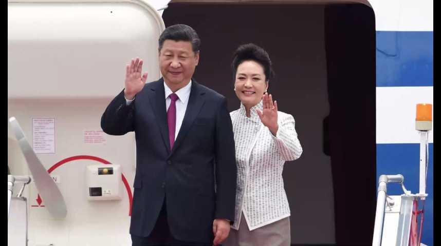 Illustration pour la vidéo Xi Jinping à Hong Kong pour fêter les 20 ans de la rétrocession