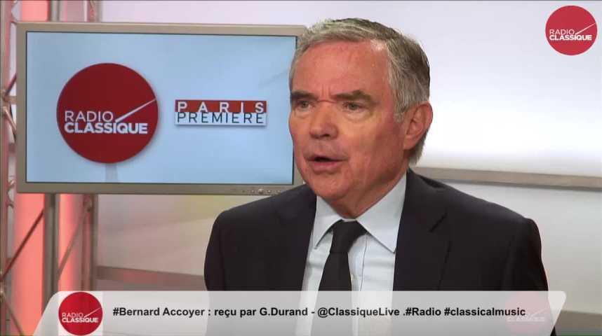 Illustration pour la vidéo « Lorsqu'on évacue 4 ministres en 5 semaines, c'est une crise » Bernard Accoyer (22/06/2017)
