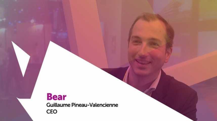 Illustration pour la vidéo Viva technology - PMU présente Bear, la solution de réalité augmentée B2B