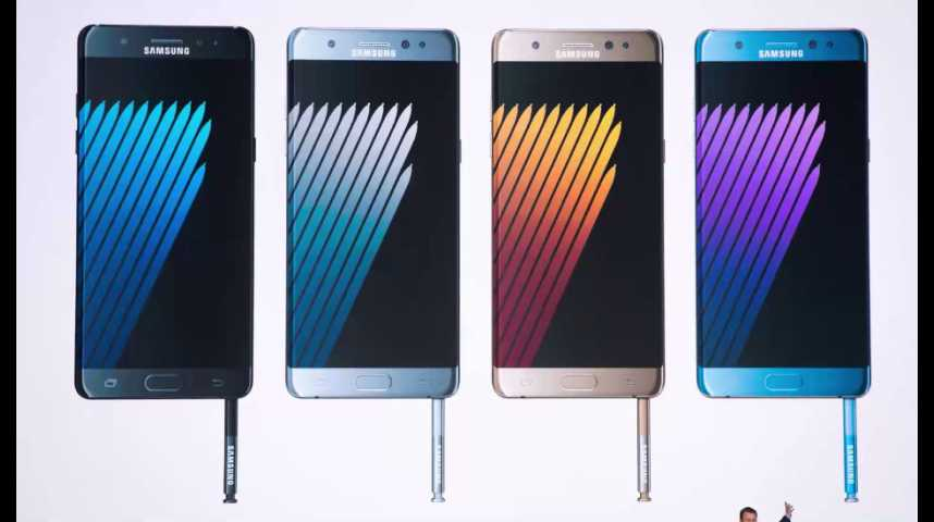 Illustration pour la vidéo Samsung ressuscite son Note 7 et sauve des centaines de millions d'euros