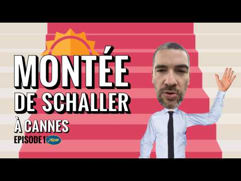Montée de Schaller à Cannes, avec Augustin Trapenard