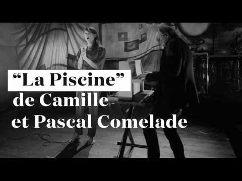 """Exclusif : Camille et Pascal Comelade plongent dans la """"Piscine"""" en live"""