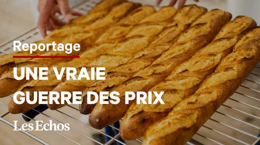 Illustration pour la vidéo No pain, no gain : A la recherche du juste prix de la baguette