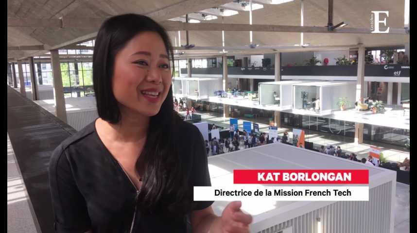 Illustration pour la vidéo 3 questions à Kat Borlongan, nouvelle directrice de la Mission French Tech
