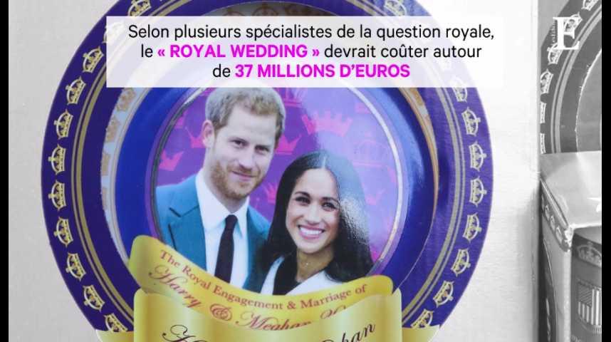 Illustration pour la vidéo Meghan & Harry : ce mariage qui va coûter cher aux Britanniques