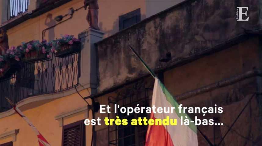 Illustration pour la vidéo Avec sa nouvelle équipe de direction, Iliad-Free attaque l'Italie