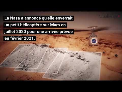 La Nasa prévoit d'envoyer un micro-hélicoptère sur Mars en 2020