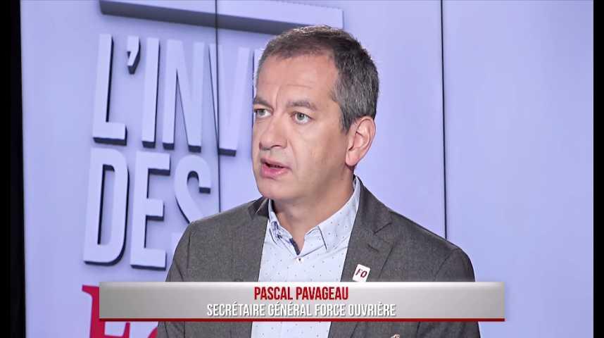 """Illustration pour la vidéo """"Un mouvement interprofessionnel est possible et souhaitable, peut-être dès le mois de juin"""" (Pascal Pavageau, FO)"""