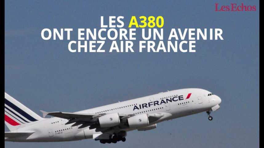 Illustration pour la vidéo Les A380 ont encore un avenir chez Air France