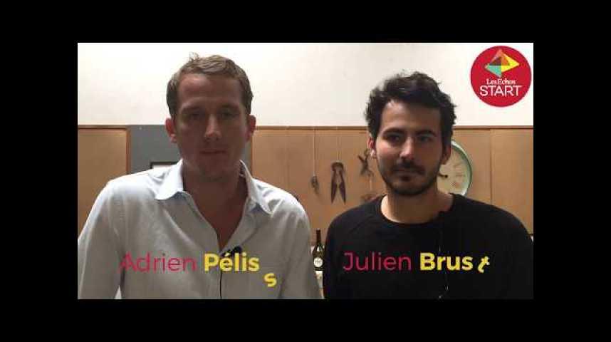 Illustration pour la vidéo Ces trois entrepreneurs veulent faire renaître le vin à Paris