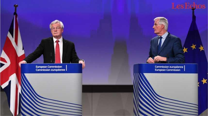 Illustration pour la vidéo Brexit : les négociations dans « une impasse »