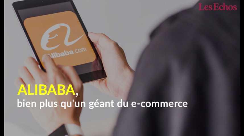 Illustration pour la vidéo Alibaba, bien plus qu'un géant du e-commerce