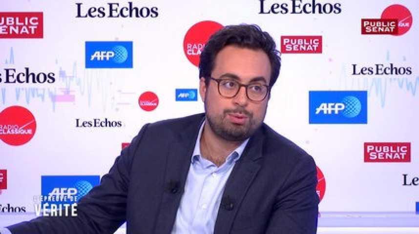 """Illustration pour la vidéo """"Il faut qu'on porte plus fort les questions de justice sociale"""", estime Mounir Mahjoubi"""