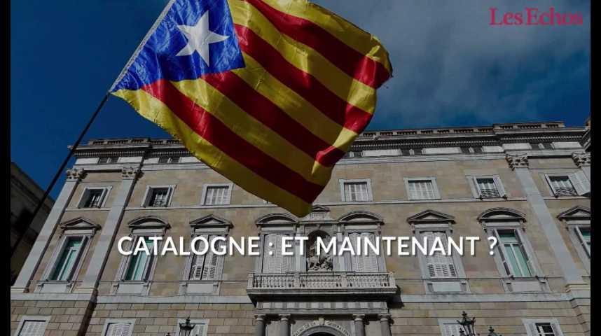 Illustration pour la vidéo Catalogne : et maintenant ?