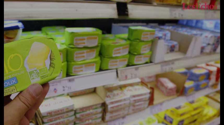 Illustration pour la vidéo Pourquoi le beurre manque dans les rayons de supermarchés