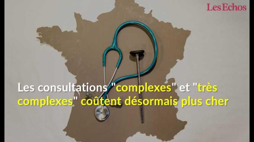Illustration pour la vidéo Quelles consultations chez le médecin coûtent désormais 46 et 60€ ?