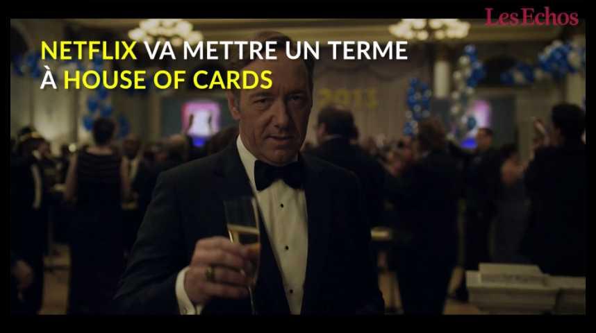 """Illustration pour la vidéo Netflix va mettre fin à la série """"House of Cards"""""""