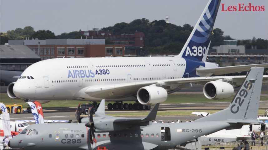 Illustration pour la vidéo Pourquoi les compagnies aériennes restent à l'écart de l'A380